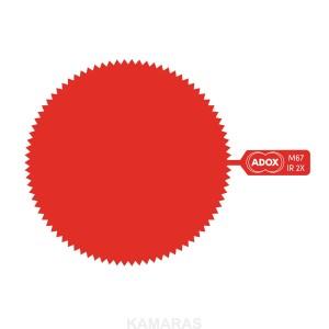 ADOX M52 SNAP-ON gelatine filter infrared 2x