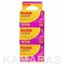 Kodak Gold 200-35mm 36 (Pack 3 rollos)