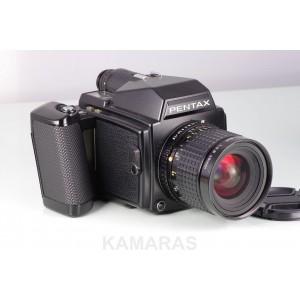 Pentax  645 + smc 45mm f2.8 + 120