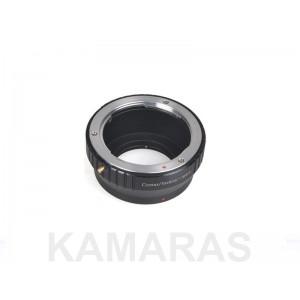 Objetivos Contax a cámaras M.4/3