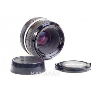 Nikkor 50mm F2 F modificado Ai