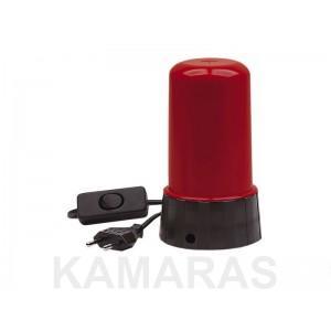 Farol de laboratorio 220V 10W rojo AP