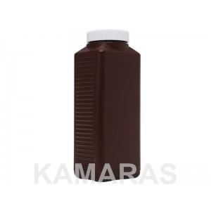 Botella rígida 1 litro marrón