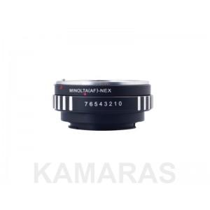 Objetivos  Minolta AF a cámaras SONY NEX