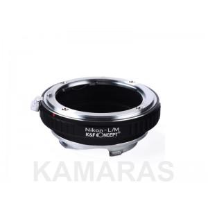 Objetivos Nikon a cámaras Leica M