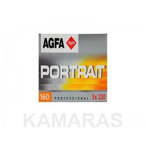 Agfa Portrait 160 220 x1 Rollo C-41 (Caducada 08-2007)