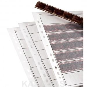 Fundas de pergamina translucida de 35mm 100 Und.