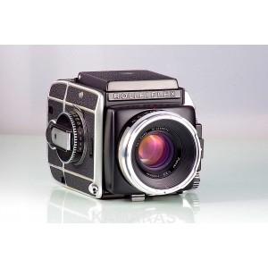 Rolleiflex SL66 + Carl Zeiss Planar 2.8/80 + 120 + WLF