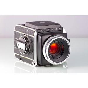 Rolleiflex SL66 + Carl Zeiss Planar HFT 2.8/80 4/50 4/150 + 120 + WLF