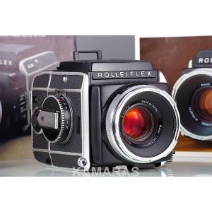 Rolleiflex SL66 + Carl Zeiss Planar HFT 2.8/80 + 120 + WLF