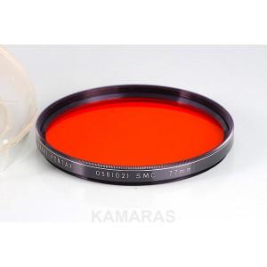 Filtro Pentax 67 SMC 77mm O56 (O2) Naranja