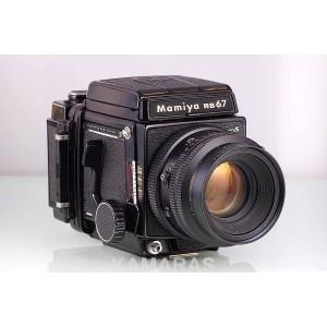 Mamiya RB67 Pro S + Sekor KL 127mm f/3.5 + Chasis 120