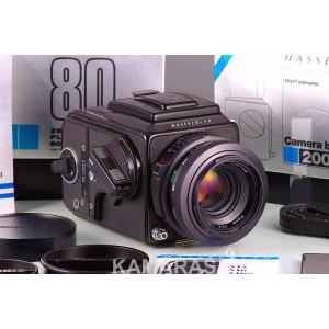 Hasselblad 2000 FC/W + 80 F + A12 + WLF
