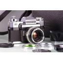 Zeiss-Ikon Contarex + Carl Zeiss Planar 50mm + Biogon 25mm + Sonnar 135mm