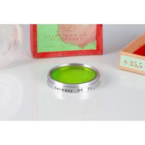 Filtro Zeiss Ikon S35.5  353/GR Green